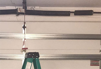 Spring Replacement Project | Garage Door Repair Hutto, TX